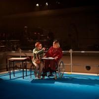 Teatteri Siperia: Paa Edella, Lighting Design: Eero Auvinen, Photo: Tiikerikuva