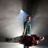 Cirkus Cirkor, Underman. Lighting design: Eero Auvinen, photo Mats Bäcker