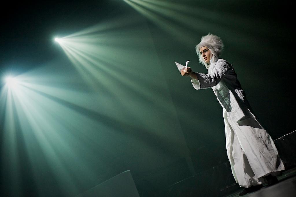 Sorin Sirkus: Sorigami, Lighting Design: Eero Auvinen, Photo, Kristian Wanvik